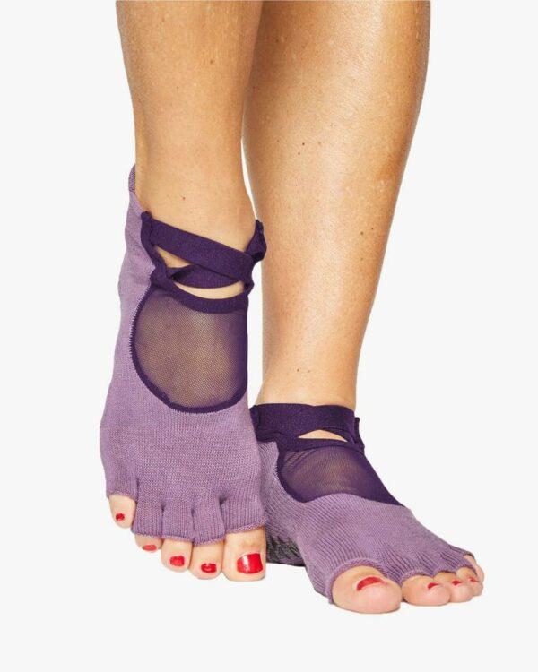 Clean Cut Toeless Grip Purple - BELE Fit