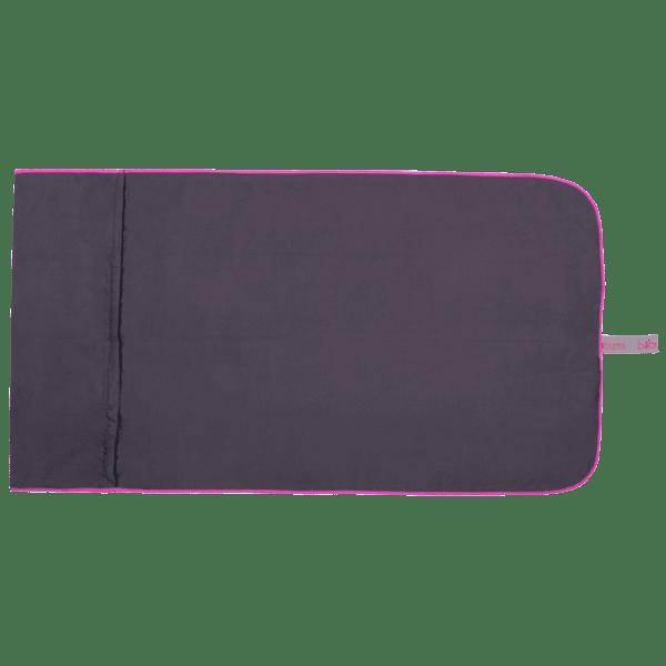 Microfibre Gym Towel Gunmetal/Pink - BELE Fit