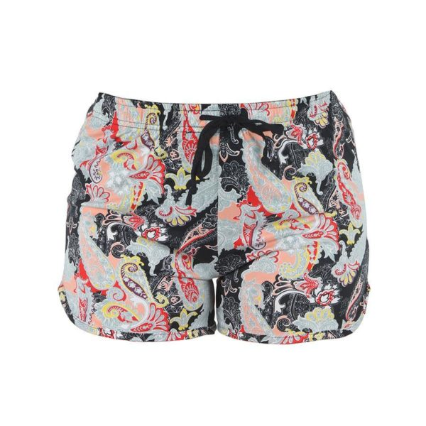 Leisure Time Midnight Paisley Shorts - BELE Fit