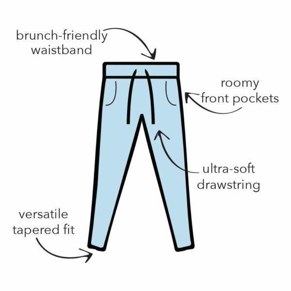 Weekender Loungewear Set Black - BELE Fit