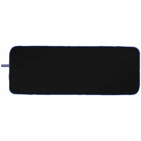 Microfibre Yoga Towel Black/Blue - BELE Fit