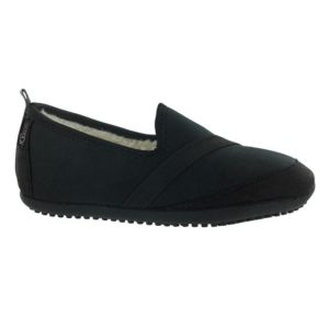 Kozikicks Slippers, Black - BELE Fit