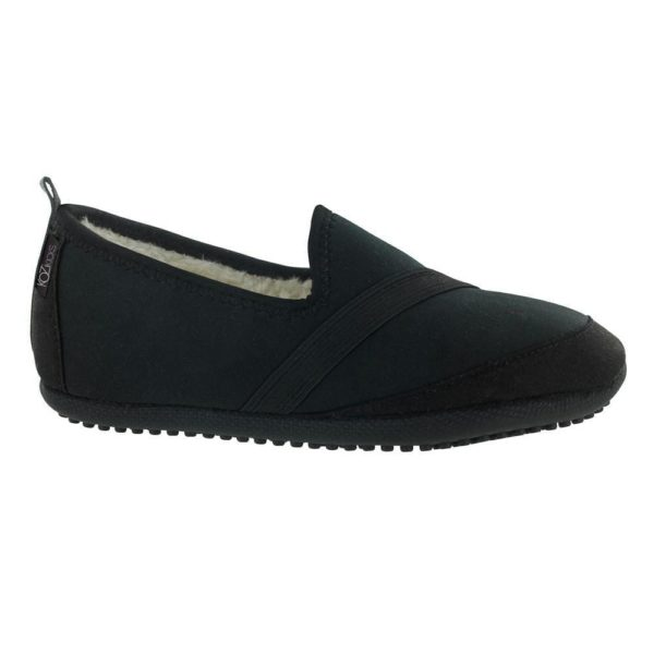 Kozikicks Slippers, Black - BELE Fit