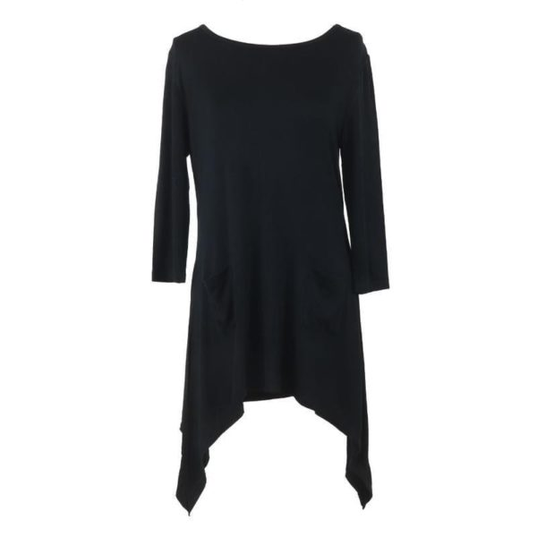 Lounge Luxe Black Top - BELE Fit